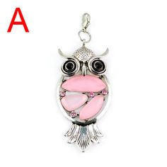 Owl resin pendant  jewelry accessoriesLength 7.8cm by Aclasssupply