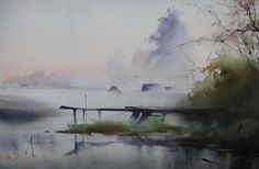"geritsel: "" What can one say… watercolors by Ilya Ibryaev """