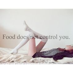 Food does not control you!