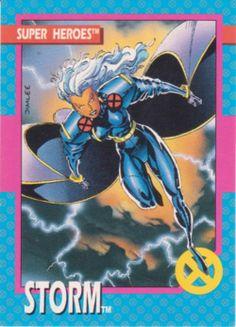 Jim Lee X-Men Comic Cards