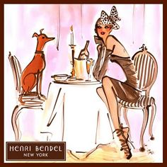 Ashlees Loves: The ART of FASHION  @Henrietta Raap Bendel #art #fashion #style #design