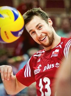 volleyball | Michał Kubiak Volleyball Tumblr, Ski Jumping, Soccer Ball, Olympics, Athlete, Poses, People, Poland, Crushes