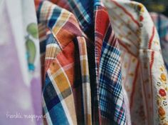 Old shirt fabric can be used for quilts