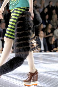 See detail photos for Prada Spring 2011 Ready-to-Wear collection.