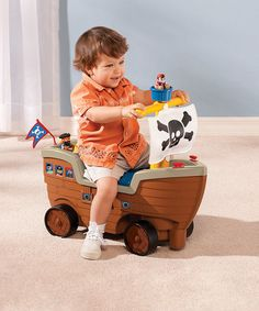 Another great find on #zulily! Play 'n Scoot Pirate Ship by Little Tikes #zulilyfinds