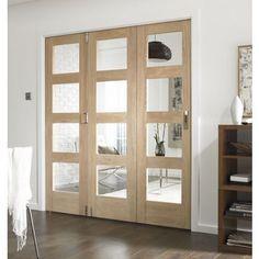 Room Glazed Fold Doorset - 1929mm Wide