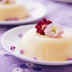 This low-fat custard owes its tangy, sophisticated flavor to dried lavender and purchased lemon curd.
