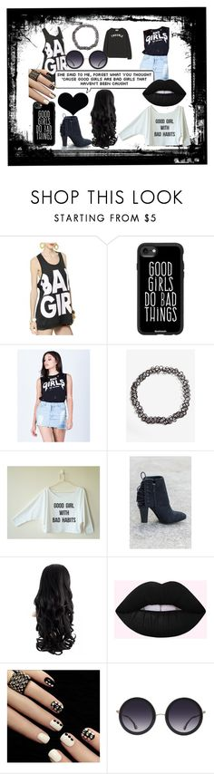 """Bad Girls"" by life-is-trippy ❤ liked on Polyvore featuring WithChic, Casetify, Alice + Olivia and Brika"