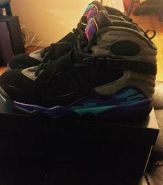 2015 Air Jordan VIII (8) Retro Aqua Size 12 305381-025 #Deadstock
