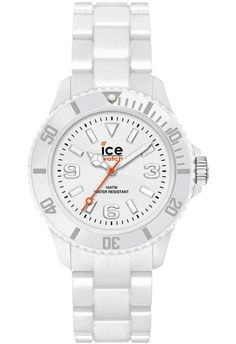 Montre Ice-Watch Classic Solid Blanc Small