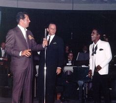 Rat Pack at the Sands Hotel - super web photo of a Vegas Sands Hotel performance - undated - MReno