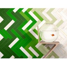 #herringbone #boldcolors #tiledesign loved using this tile as our backsplash for a pop of color! U-color @stonesourcellc by andrea_amondson