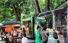 Edição pocket do Evento Gastronômico do Bem, no Parque Trianon, na Avenida Paulista.