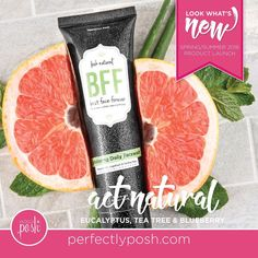 When you find the best you want it to last forever. Millions of natural microbeads gently exfoliate and freshen in a blend of grapefruit and peppermint essential oils. Clear away dry, dead skin in a flash and always put your best face forward. Gentle enough for daily use so you never have to go a day without your BFF. Wash with water and a pea-sized drop once per day to naturally clean and exfoliate neck and face. Pat dry and follow with Night & Day for lasting results. Fragrance…