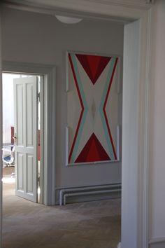 showroom File Under Pop Copenhagen Tiles / Walaper / Paint www.fileunderpop.com / photo I/OBJECT - CLOUDS www.iobjectstore.com