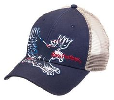 Bass Pro Shops Red, White, and Blue Eagle Cap