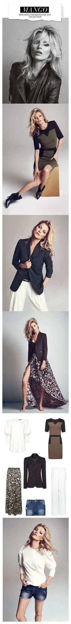 Kate Moss for Mango AW 2012 Collection
