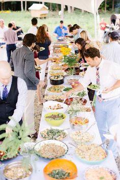 Buffet para casamento: o menu ideal