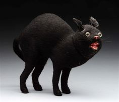 Black Cat Candy Container.