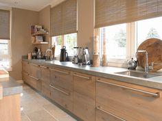 Tieleman Exclusief Welsh keuken in Waalwijk (massief houten front)