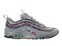 half off ddfd6 49ac6 Nike Air Max 97 Confetti AO2325-001 Chaussures Nike Basket Pour Homme Gris