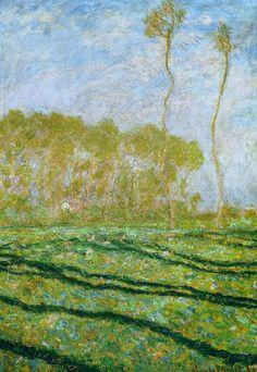 Claude Monet, Springtime Landscape at Giverny, 1894