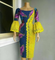 Modern Ankara Styles, Classical Ankara Styles For You: The ankara styles (african fashion trends) is so quite sundry and its diverge colors and patterns make. African Fashion Ankara, Ghanaian Fashion, African Print Fashion, Africa Fashion, Fashion Men, Fashion Ideas, Fashion Outfits, African Dresses For Women, African Print Dresses
