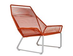 The Cord Collection is a colorful new series of outdoor furniture inspired by those modernist string chairs made popular in places like Palm Springs. Designed by the Venice, California-based Ilan Dei Studio, the pieces are ergonomic and minimalist in design, yet completely durable and made to hold up in harsh temps.