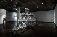 Beautifully Ornate Installations by Simeon Nelson - My Modern Metropolis