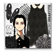 """Happy Halloween my friends!"" by karolinaneverkarolcia ❤ liked on Polyvore featuring Revolution, Dolce&Gabbana, 1ROA, Urban Decay and Bernard Delettrez"