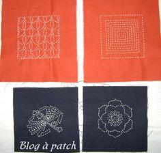 Nouveaux motifs sashiko - Le blog de Patchacha