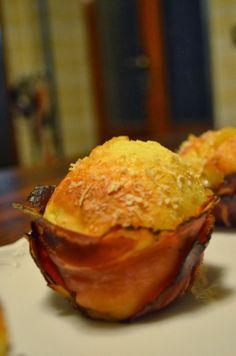 Muffin salati Speck e brie