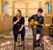 With Superb Vocals And Beautiful Guitar Accompaniment Mockingbird Are A Highly Talented Young And Professional Acoustic Duo P Duo Acoustic Beautiful Guitars