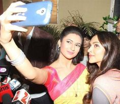 Divyanka Tripathi and Deepika Selfie