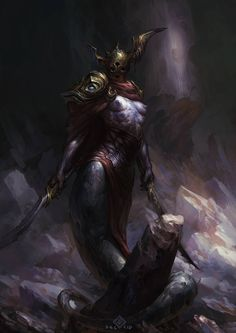 Slaanesh Champion by EdCid.deviantart.com on @DeviantArt