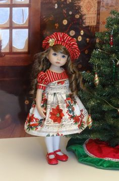 Snow Fairy - dress, tights & shoes for Dianna Effner Little ...