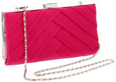 Magid 6845 Clutch,Fuchsia,One Size