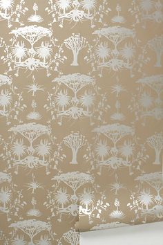 Anthropologie, Whistling Thorn Wallpaper