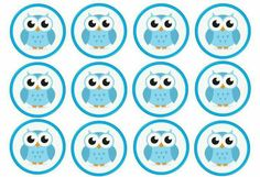 Baby Shawer, Baby Owls, Owl Parties, Owl Clip Art, Pink Bar, Wafer Paper Cake, Edible Printing, Bottle Cap Images, Owl Print