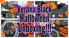 Cute Halloween Accessories!!! Spooky Halloween Accessories! HALLOWEEN HAPPY//VERONA BLACK HALLOWEEN UNBOXING