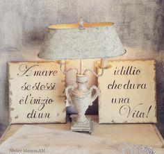 Quadri in legno personalizzati! Atelier Maison AM Via IV Novembre 83c Casarza Ligure GE