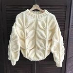 Мобильный LiveInternet пуловер с крупными листьями   olgasav - Дневник olgasav  