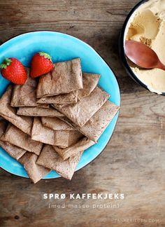 Coffee flavoured protein biscuits / Sprø kaffekjeks med masse protein