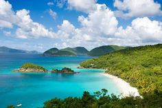 St. John, US Virgin Islands- Run by the Danish for years, the US purchased the Virgin Islands back in 1917, and ever since they've remained pretty under-the-radar for how gorgeous they are. St. John, however, is perhaps the best one to visit—there's not a single traffic light on the island, not to mention its secluded beaches, trails, fantastic dining, and plenty of beachfront properties available for lodging.