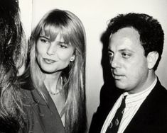 """Christie Brinkley With Billy Joel in 1988 at the """"Speed-the-Plow"""" opening Billy Joel Christie Brinkley, Christie Brinkley Age, Audrey Fluerot, Top 40 Hits, Tribeca Film Festival, Paparazzi Photos, Swimsuit Edition, People Magazine, Today Show"""