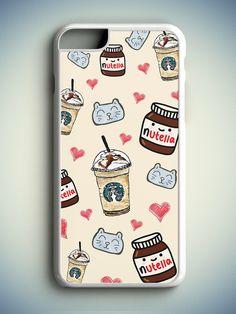Tumblr Girl iPhone 6S Case, Tumblr iPhone 6 Case, Nutella iPhone s Case, Nutella…