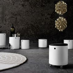 Tavolino Party Set - design Panton Verner - Verpan