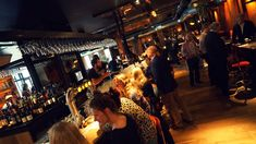 verbouwing Orloff an de Kade restaurant  in staal en hout door wearearchitects #horeca #cafe #utrecht #diner #restaurant Utrecht, Restaurant, Concert, Recital, Restaurants, Concerts, Supper Club, Dining Room