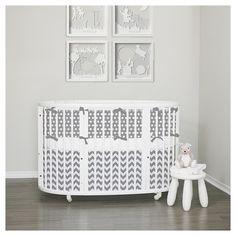 Stokke Sleepi Crib. Gray modern patterns. Stars, chevron, gingham dots and so much more. Learn more Lublini.com #stokke