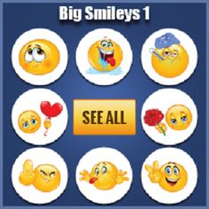kiss sticker for facebook chat | sticker emoticons ...